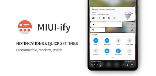 MIUI-ify - Notification Shade & Quick Settings