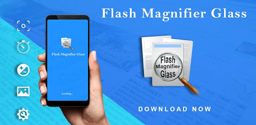 Magnifying Camera with Flashlight & Torch