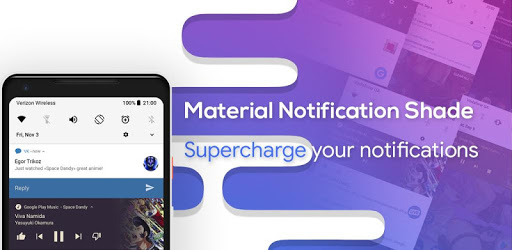 Material Notification Shade