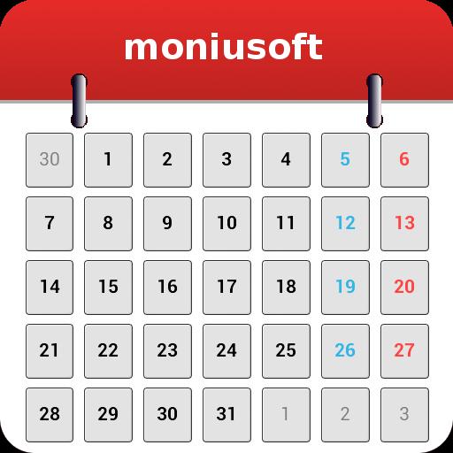 Moniusoft Calendar v6.2.2 دانلود برنامه تقویم کار ها اندروید