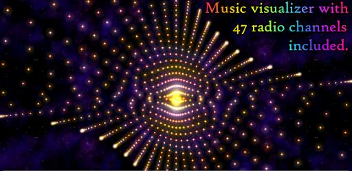 Morphing Galaxy Music Visualizer - Premium version