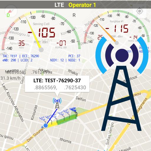 Network Cell Info v5.0.13 دانلود برنامه نمایش اطلاعات شبکه موبایل اندروید