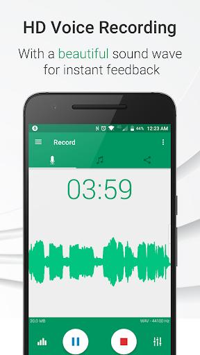 Parrot – Voice Recorder Pro v3.4.0.268 Unlocked دانلود برنامه ضبط صدا برای اندروید اندروید