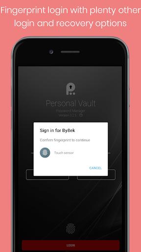 Personal Vault PRO - Password Manager v3.9 دانلود برنامه مدیریت رمز های عبور اندروید