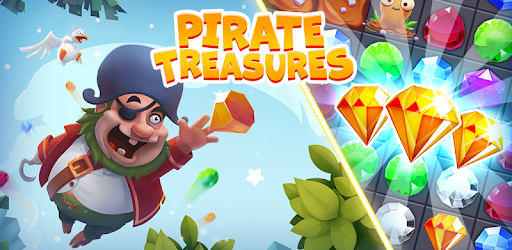 Pirate Treasures - Gems Puzzle