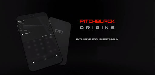 PitchBlack - Substratum Theme For Oreo/Pie/10
