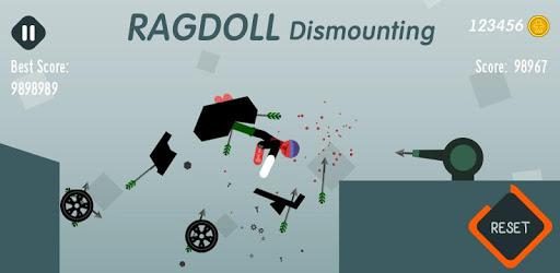 Ragdoll Dismounting