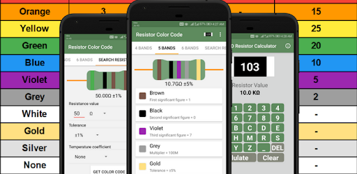 Resistor Color Code And SMD Code Calculator