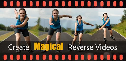 Reverse Video Movie Camera Fun