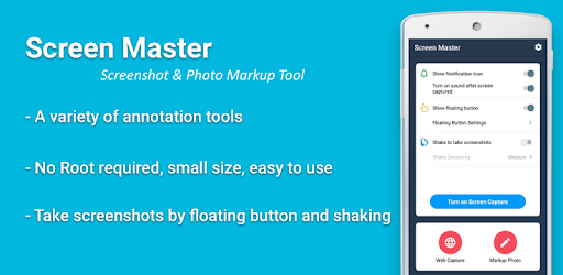 Screen Master Pro: Screenshot, Photo Markup