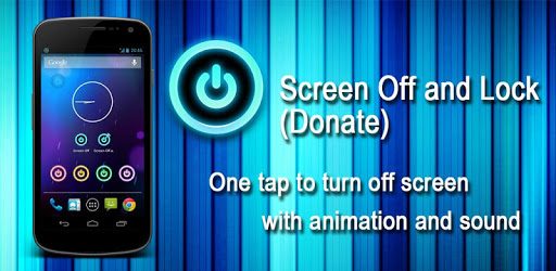 Screen Off and Lock (Donate)
