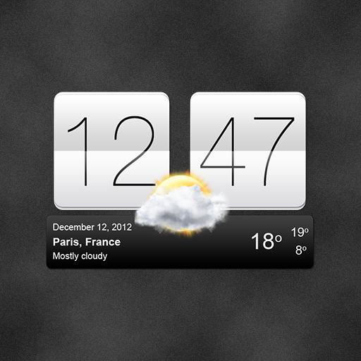 Sense V2 Flip Clock & Weather v5.76.1.5 دانلود ویجت آب و هوای اچ تی سی اندروید