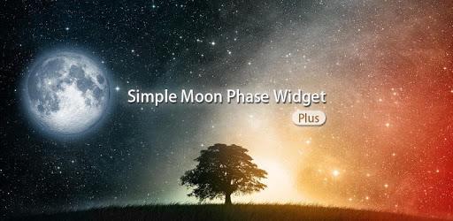 Simple Moon Phase Widget Plus