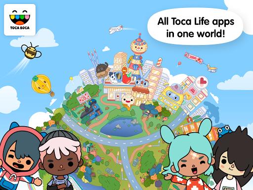 Toca Life World v1.13 دانلود بازی زندگی توکا در دنیا + مود اندروید