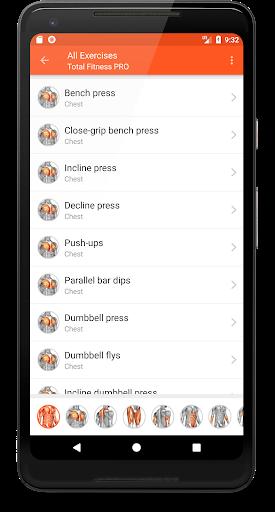 Total Fitness v3.2.9 دانلود برنامه فیتنس و تناسب اندام اندروید اندروید
