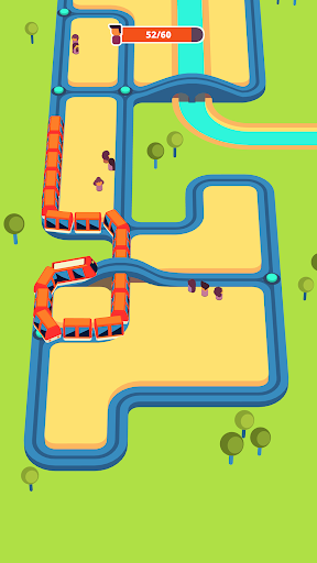 Train Taxi v1.4.2 دانلود بازی جذاب قطار تاکسی +مود اندروید