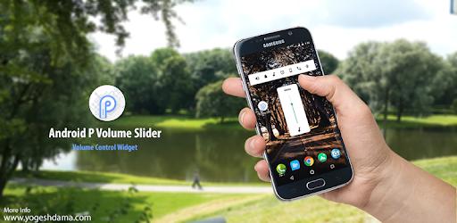 Volume Slider Like Android P Volume Control