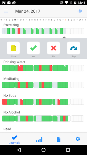 Way of Life - The Habit Tracker v1.4.6 دانلود برنامه تغییر عادت ها اندروید