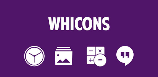 Whicons - White Icon Pack