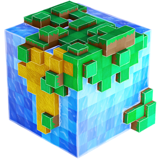 WorldCraft : 3D Build & Craft v3.4.11 دانلود بازی ساخت صنایع دستی + مود اندروید