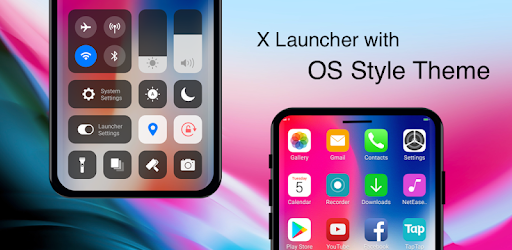 X Launcher Pro: PhoneX Theme, OS12 Control Center