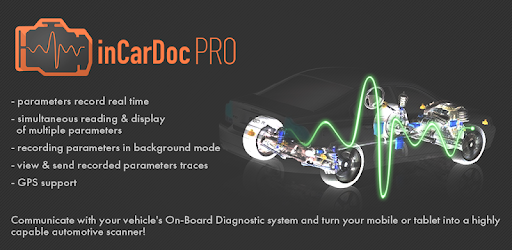 inCarDoc Pro | ELM327 OBD2 Scanner Bluetooth/WiFi